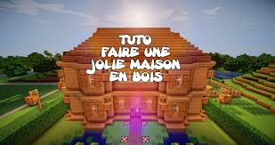belle maison minecraft facile
