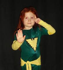 homemade jean grey phoenix costume for