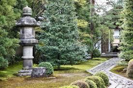 kyoto zen garden stock image image of