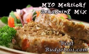 homemade meatloaf seasoning mix