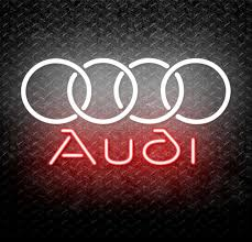 Buy Audi Logo Neon Sign Online // Neonstation