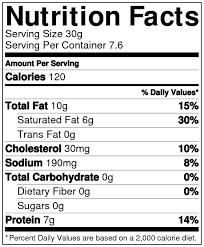 plain bagel nutrition facts label