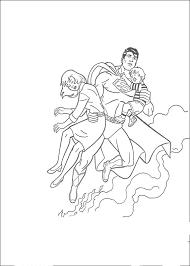 Superman Kleurplaat Printen 25