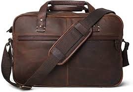 cow leather carry on pilot bag