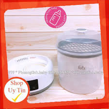 Ảnh Thật, Tặng Bình Sữa Fatz - Máy tiệt trùng sấy khô bình sữa điện tử Fatz  baby FB4913KM