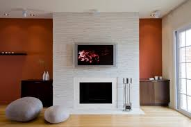 clean and modern showcase fireplace designs