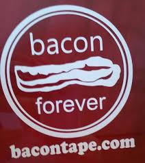 Bacon Forever Vinyl Decal Car Decal Laptop Sticker Bumper Etsy