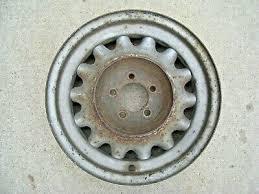 "Original 1930's Artillery Steel Wheel 16"" x 4"" Pontiac Chevrolet ..."