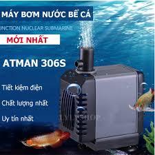 Cách Lọc Nước Hồ Cá Cảnh, Máy Bơm Nước Bể Cá AT-306S, Máy Bơm Mini Cao Cấp  Dành Cho Bể Cá Cảnh KN99265, Mẫu Mới 2019, Công Suất Cực Mạnh, Sử Dụng