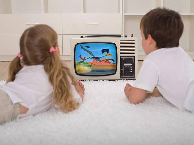 Image result for children tv watching
