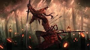 anime samurai hd wallpaper
