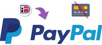 paypal zonder creditcard met ideal of