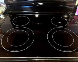 glass stovetop sparkling clean