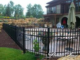 Premier Fence Inc Aluminum Fence 3 Rail Staggered Image Proview