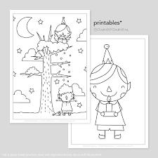 Kerst Elfjes Printable Kleurplaten Tekeninstructies
