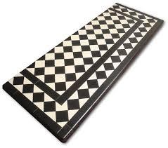 hearths made from rectangular tiles
