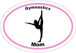Gymnastics Mom Silhouette Vinyl Decal St Buy Online In Guernsey At Desertcart