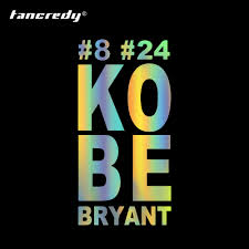 Tancredy 15 30cm 8 24 Kobe Bryant Creative Car Sticker And Decals For Auto Car Styling Window Door Bumper Sticker Accessories Car Stickers Aliexpress