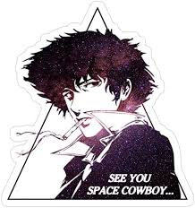 Amazon Com Vfreem 3 Pcs Pack Cowboy Bebop See You Space Cowboy 3x4 Inch Die Cut Stickers Decals For Laptop Window Car Bumper Helmet Water Bottle Home Kitchen