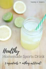 homemade natural electrolyte drink