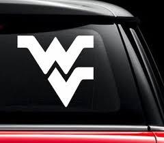 Flying Wv Wvu Mountaineers Window Decal Sticker Custom Sticker Shop