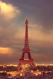 paris eiffel tower sky clouds iphone