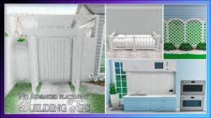 Bloxburg Building Tips No Advanced Placing Gate Wall Oven And Crib Youtube