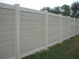 Custom Vinyl Fence By Mossy Oak Fence Horizontal Panels Can You Make A Gate Of This Fence Vinyl Privacy Fence Fence Design Backyard Fences