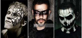 scary halloween makeup ideas for men