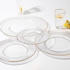 plate sets tray wine glass cup platos