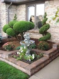 low maintenance front yard designs