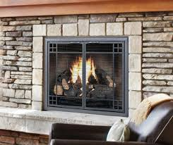 benefits of glass fireplace doors