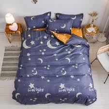 night sky bedding set king queen full