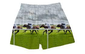horse racing boxers tees