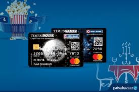 hdfc bank times credit card review