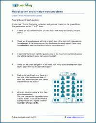 4th grade word problem worksheets