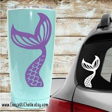 Mermaid Tail Vinyl Decal For Your Car Tumbler Or Anywhere You Decide To Put It Mermaid Decal Cricut Projects Vinyl Vinyl Crafts
