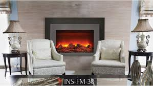 flame ins fm 30 electric fireplace insert