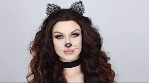 easy glam cat makeup tutorial