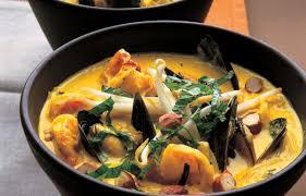 Seafood and Coconut Laksa