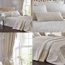 dorma talia cream jacquard quilt cover