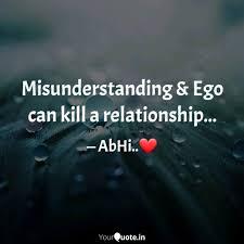 misunderstanding ego ca quotes writings by kunwar
