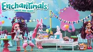 Enchantimals Danessa Deer Fiesta De Cumpleanos De Enchantimals Youtube