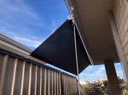Roof To Fence Blinds Now Available Action Awnings Outdoor Blinds Perth