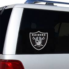 Oakland Raiders Decals Oakland Raiders Window Decals Oakland Raiders Glass Tatz Nfl Logo Cutz Side Windshield Graphic Decals