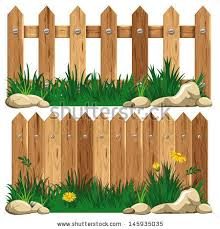 Rustic Wood Stock Vectors Vector Clip Art Wooden Fence Family Tree Art Fence
