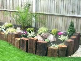 using wood for garden borders ink co