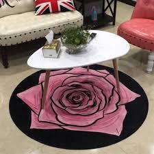 Round 3d Printed Flower Carpet Area Rugs For Kids Room Bathing Rug Bedroom Mat Non Slip 80 80 100 100cm Computer Mat Carpet Tile Desig 0dbz Plush Carpet Tiles Buy Rug From Cnwalmart 36 14