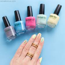 dazzle dry nail polish review and