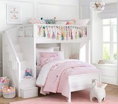 Unicorn Shaped Wicker Storage Bed For Girls Room Bunk Beds For Girls Room Bedroom Sets